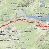 Race Report: Glasgow to Edinburgh Double Marathon