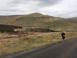 Glen Lyon uphill