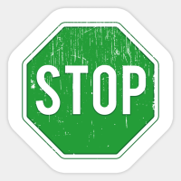 Turn the stop sign green